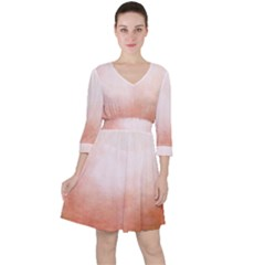 Ombre Ruffle Dress