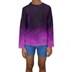 Ombre Kids  Long Sleeve Swimwear