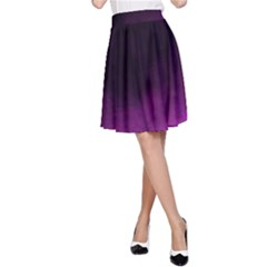Ombre A Line Skirt