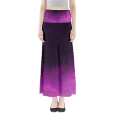 Ombre Full Length Maxi Skirt