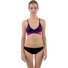 Ombre Wrap Around Bikini Set