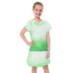 Ombre Kids  Drop Waist Dress