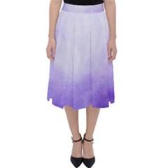 Ombre Folding Skater Skirt