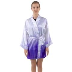 Ombre Long Sleeve Kimono Robe