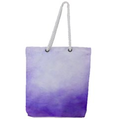 Ombre Full Print Rope Handle Tote (large)