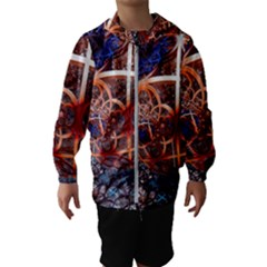 Complexity Chaos Structure Hooded Wind Breaker (kids)