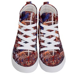 Complexity Chaos Structure Kid s Hi Top Skate Sneakers