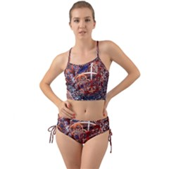Complexity Chaos Structure Mini Tank Bikini Set