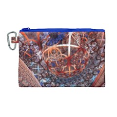 Complexity Chaos Structure Canvas Cosmetic Bag (large)