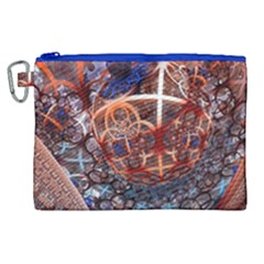 Complexity Chaos Structure Canvas Cosmetic Bag (xl)