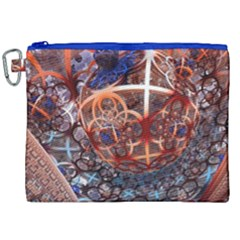 Complexity Chaos Structure Canvas Cosmetic Bag (xxl)