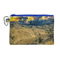 Hills Countryside Landscape Nature Canvas Cosmetic Bag (large)