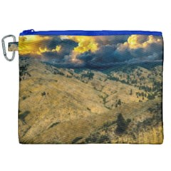 Hills Countryside Landscape Nature Canvas Cosmetic Bag (xxl)