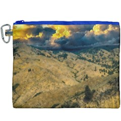 Hills Countryside Landscape Nature Canvas Cosmetic Bag (xxxl)