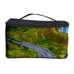 Cliff Coast Road Landscape Travel Cosmetic Storage Case