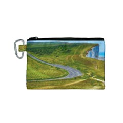 Cliff Coast Road Landscape Travel Canvas Cosmetic Bag (small)