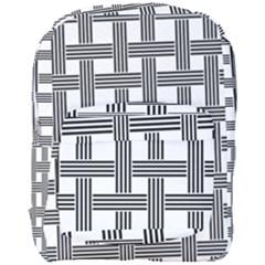Seamless Stripe Pattern Lines Full Print Backpack