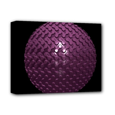 Sphere 3d Geometry Math Design Deluxe Canvas 14  X 11