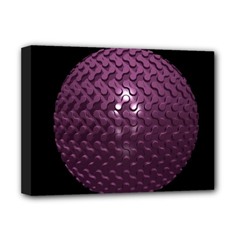Sphere 3d Geometry Math Design Deluxe Canvas 16  X 12