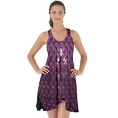 Sphere 3d Geometry Math Design Show Some Back Chiffon Dress