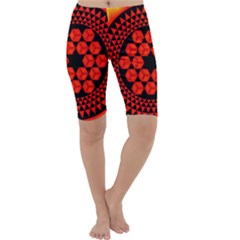 Geometry Maths Design Mathematical Cropped Leggings