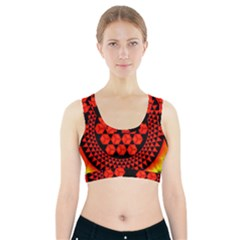 Geometry Maths Design Mathematical Sports Bra With Pocket