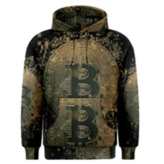 Bitcoin Cryptocurrency Blockchain Men s Pullover Hoodie