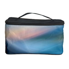 Wave Background Pattern Abstract Lines Light Cosmetic Storage Case