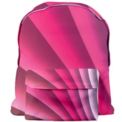 Wave Pattern Structure Texture Colorful Abstract Giant Full Print Backpack