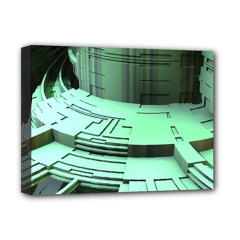 Futuristic Urban Architecture Deluxe Canvas 16  X 12