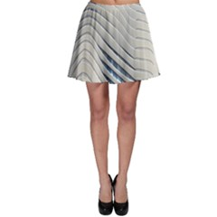 Aqua Building Wave Skater Skirt