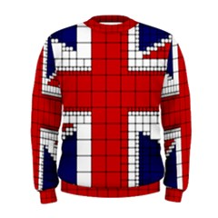 Union Jack Flag Uk Patriotic Men s Sweatshirt