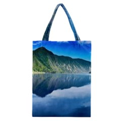 Mountain Water Landscape Nature Classic Tote Bag