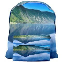 Mountain Water Landscape Nature Giant Full Print Backpack