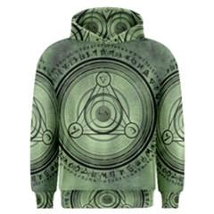 Rune Geometry Sacred Mystic Men s Overhead Hoodie
