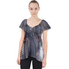 Destruction Apocalypse War Disaster Lace Front Dolly Top