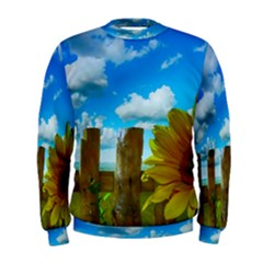 Sunflower Summer Sunny Nature Men s Sweatshirt