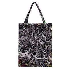 Abstract Pattern Backdrop Texture Classic Tote Bag