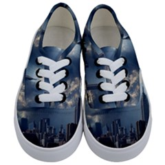 New York America New York Skyline Kids  Classic Low Top Sneakers