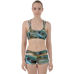 Beach Shore Sand Coast Nature Sea Women s Sports Set