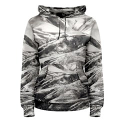 Mountains Winter Landscape Nature Women s Pullover Hoodie
