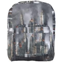 Armageddon Disaster Destruction War Full Print Backpack