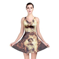 Science Fiction Teleportation Reversible Skater Dress