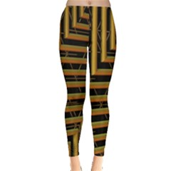 Modern Art Sculpture Architecture Leggings