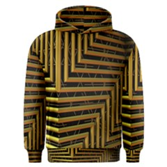 Modern Art Sculpture Architecture Men s Overhead Hoodie