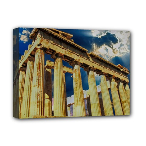 Athens Greece Ancient Architecture Deluxe Canvas 16  X 12