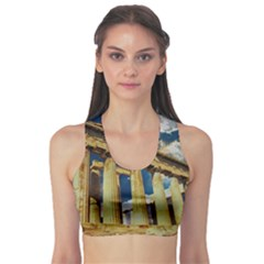 Athens Greece Ancient Architecture Sports Bra