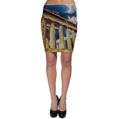 Athens Greece Ancient Architecture Bodycon Skirt