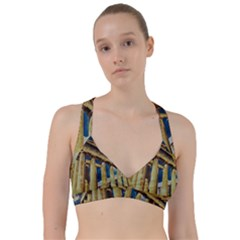 Athens Greece Ancient Architecture Sweetheart Sports Bra