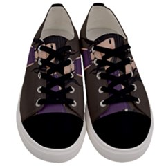 Dolly Girl And Dog Men s Low Top Canvas Sneakers